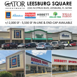 Retail Space For Lease in Leesburg, FL